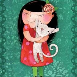 Love my cat - A5
